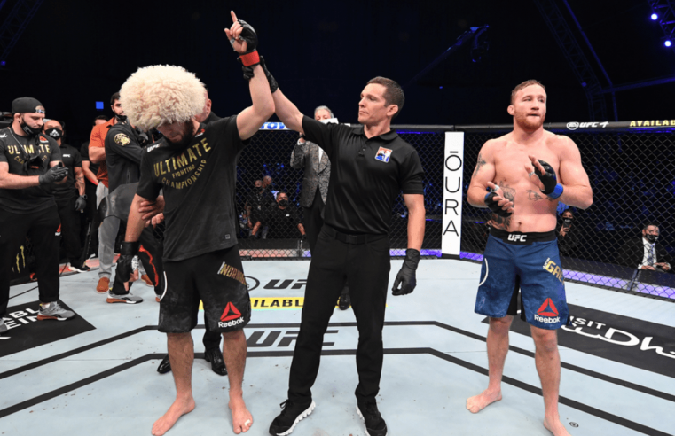 This Is How The MMA World Reacted To UFC 254 & Khabib's Retirement