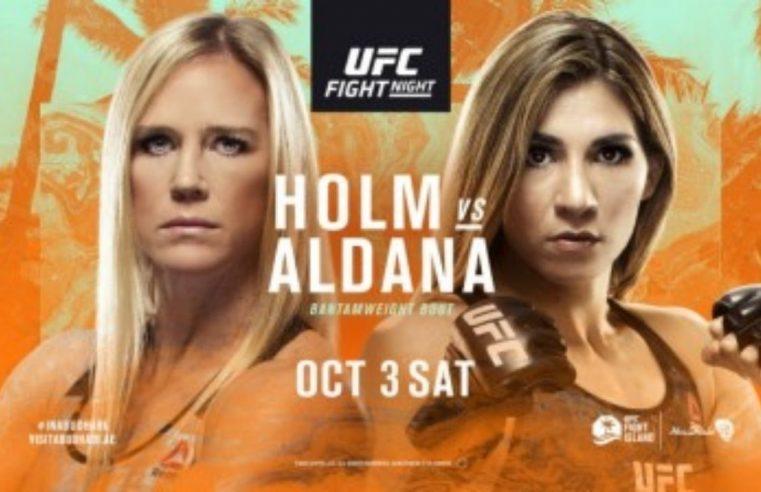 UFC Fight Island 4: Holm vs Aldana Results & Post Fight Videos