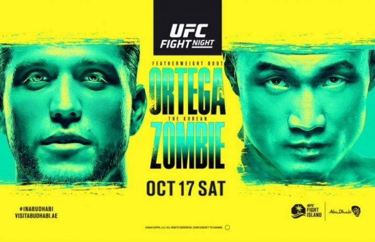 UFC Fight Island 6: Ortega vs Korean Zombie Results & Post Fight Videos