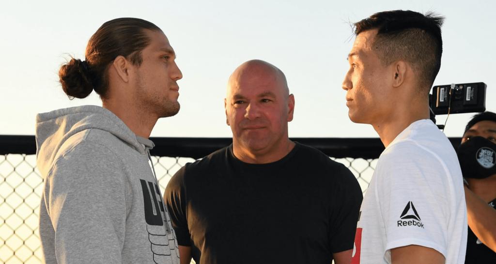 UFC Fight Island 6 Brian Ortega vs Korean Zombie