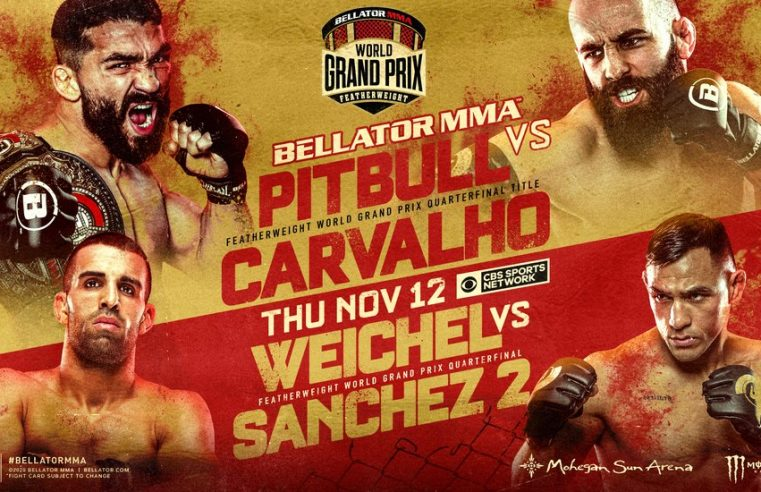 Bellator 252: 'Pitbull' vs Carvalho Results