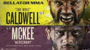 Bellator 253 results Caldwell vs McKee