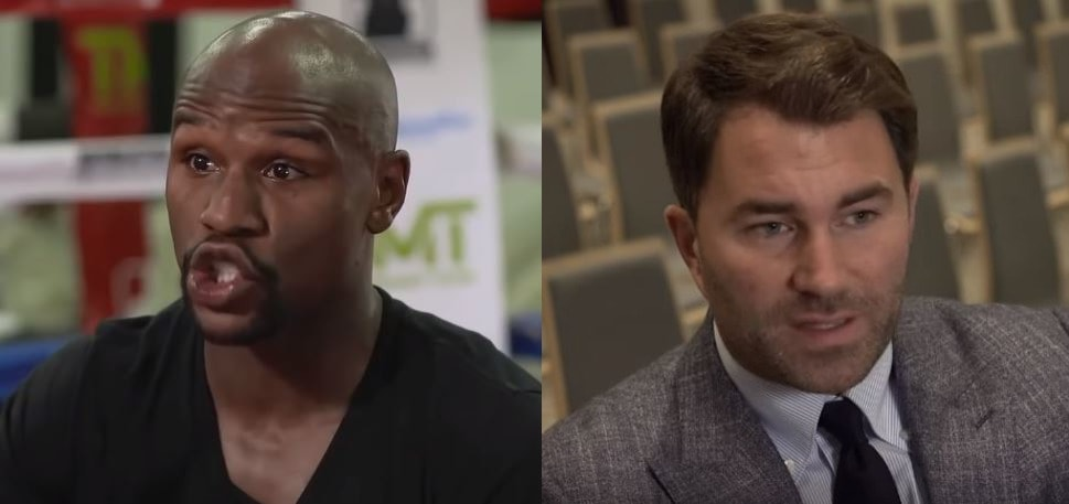 Floyd Mayweather, Eddie Hearn Agree There's Too Many Belts In Boxing
