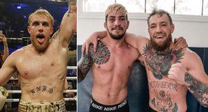 UFC, Jake Paul, Dillon Danis, Conor McGregor