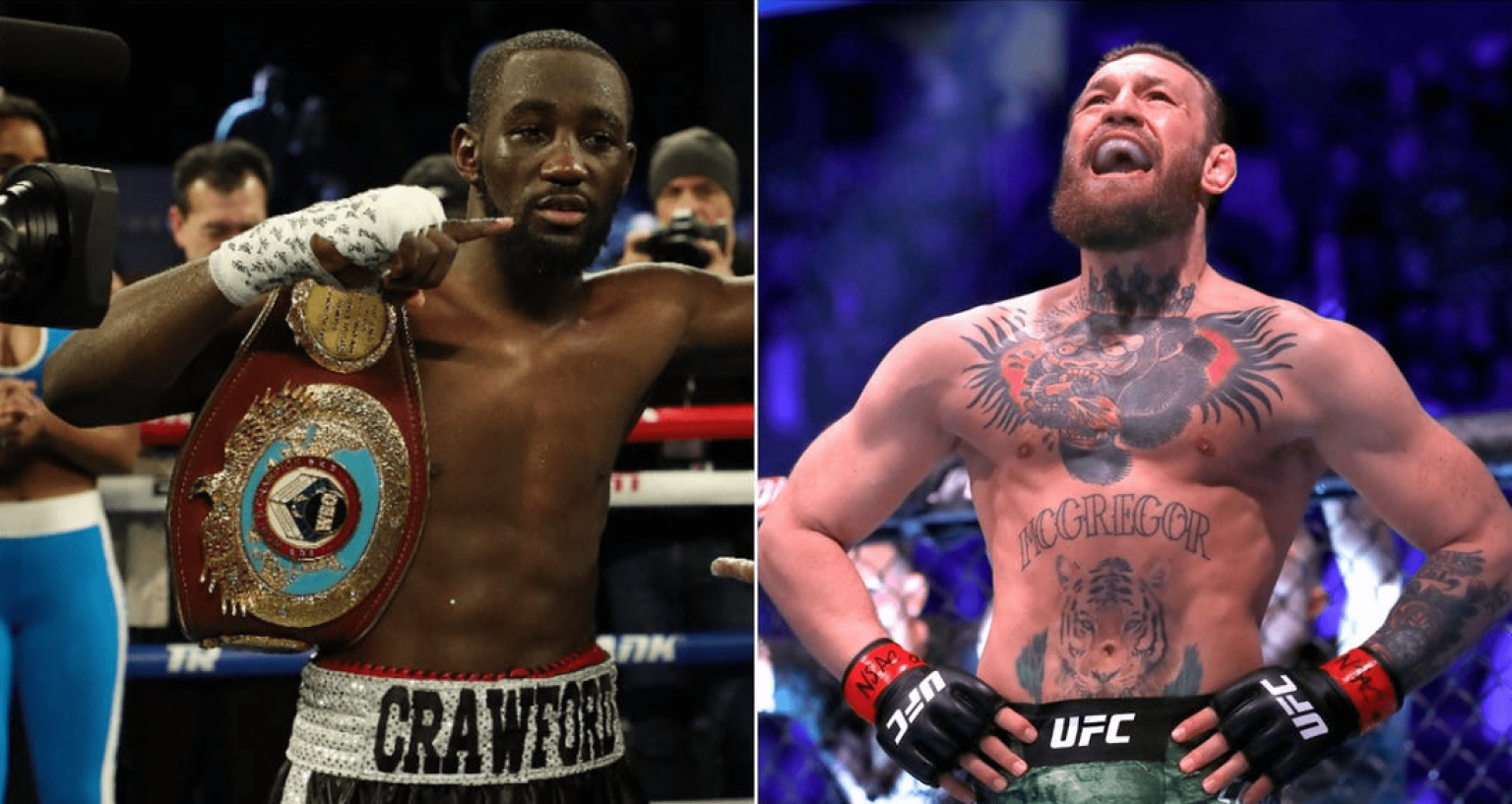 UFC Boxing Terence Crawford Conor McGregor
