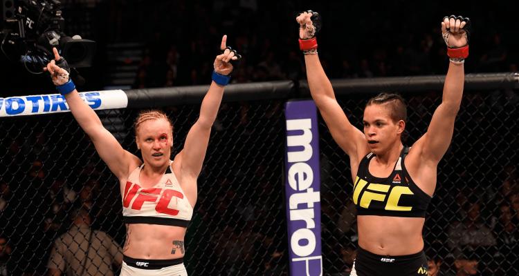 UFC 196 Valentina Shevchenko vs Amanda Nunes