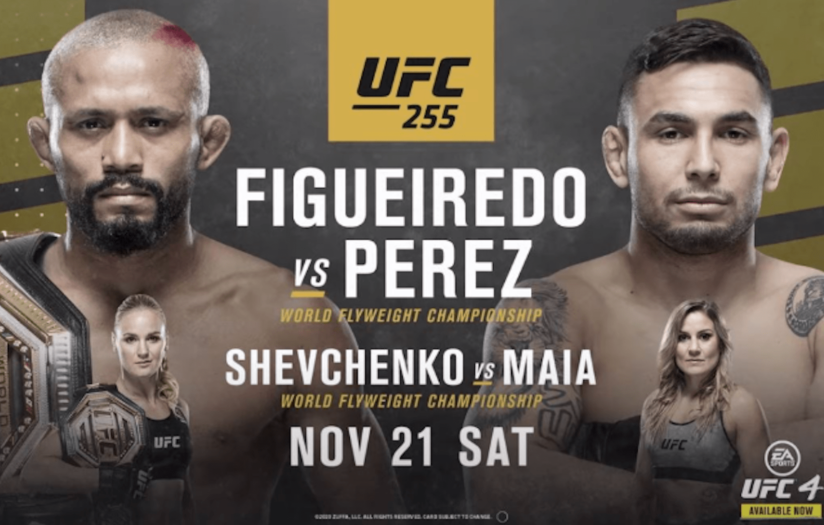 UFC 255: Figueiredo vs Perez Results And Post Fight Videos