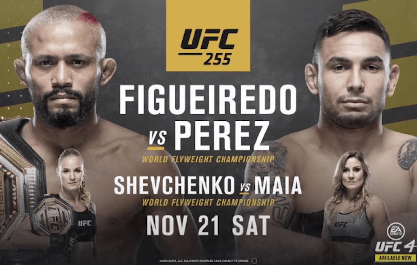 UFC 255 results: Deiveson Figueiredo vs Alex Perez