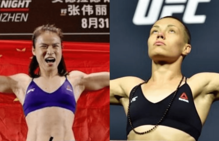 UFC: Coach Shares Timeline For Zhang Weili vs Rose Namajunas