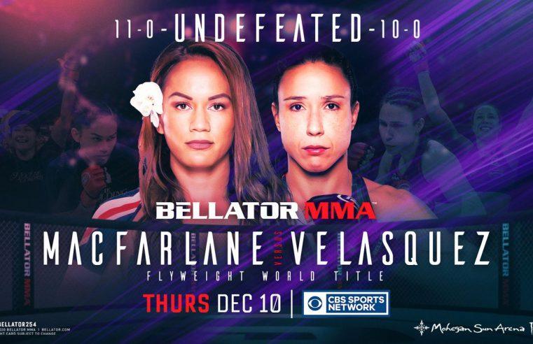 Bellator 254: Macfarlane vs Velasquez Results