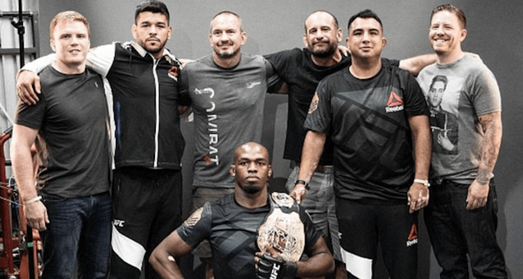 UFC Jon Jones and Jackson Wink Coaches