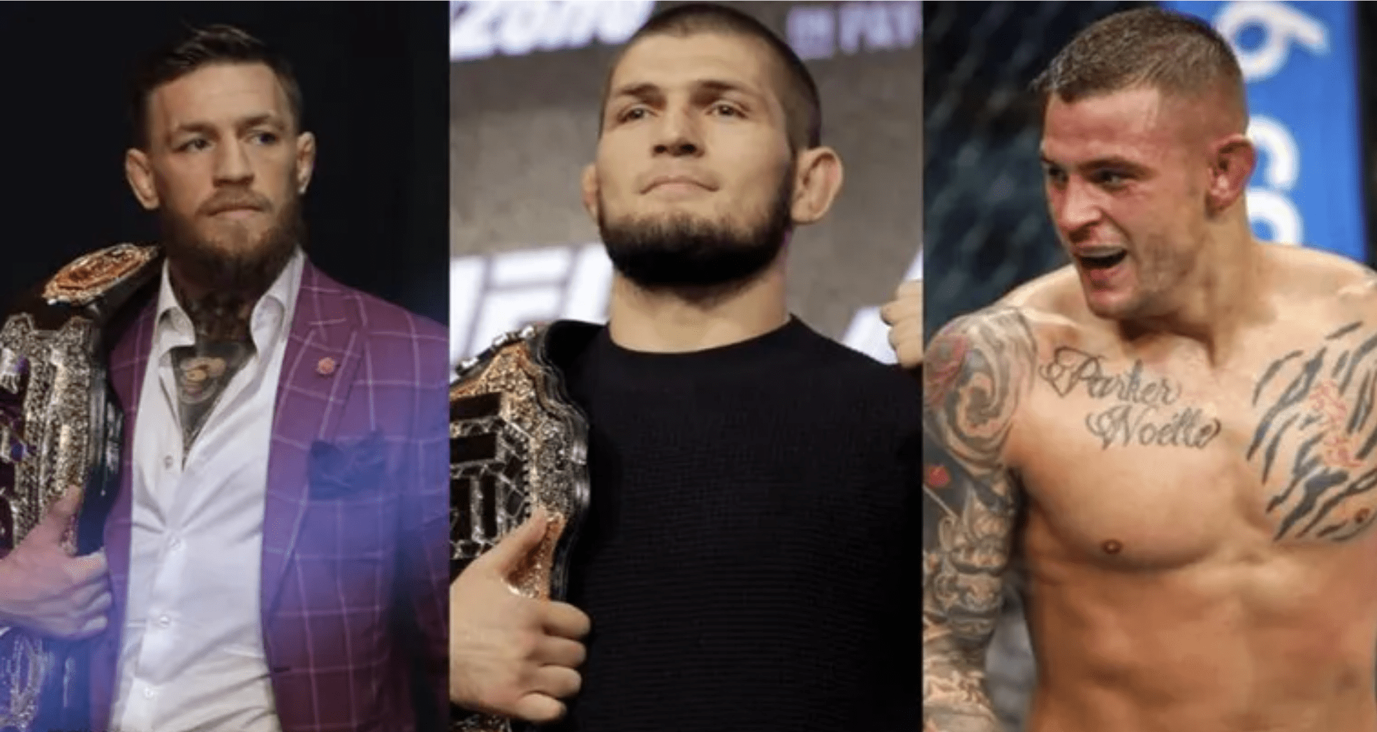 Khabib: Winner Of Poirier vs McGregor Will Go On To Win My Belt