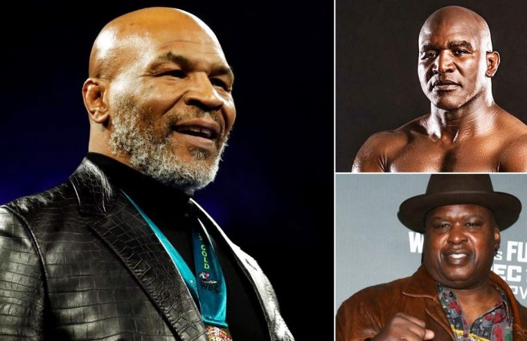 Evander Holyfield And Buster Douglas Call Out Mike Tyson