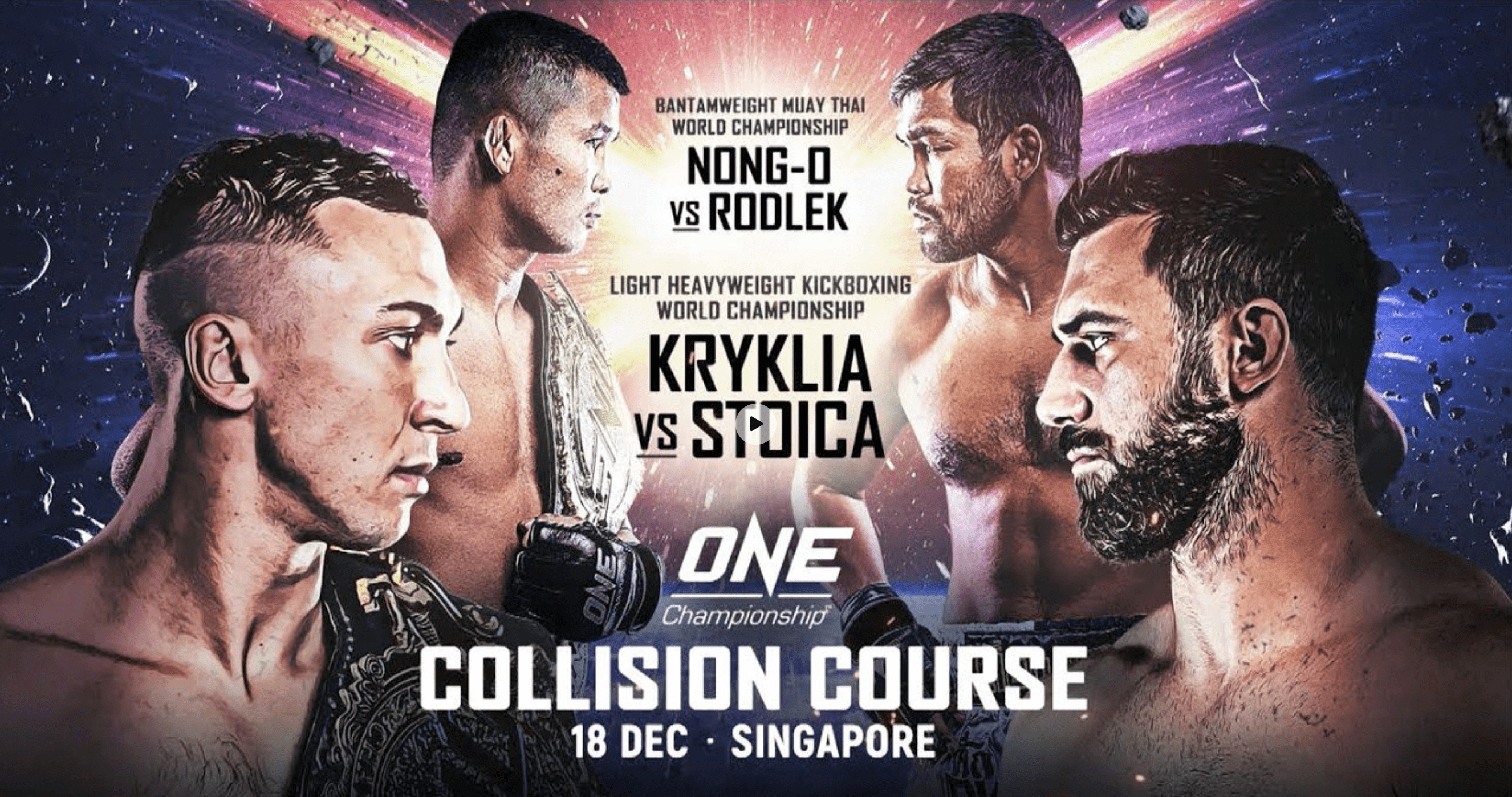 ONE: Collision Course Weigh-In And Hydration Test Results