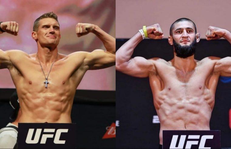 Stephen Thompson Feels Disrespected By Khamzat Chimaev's UFC Push
