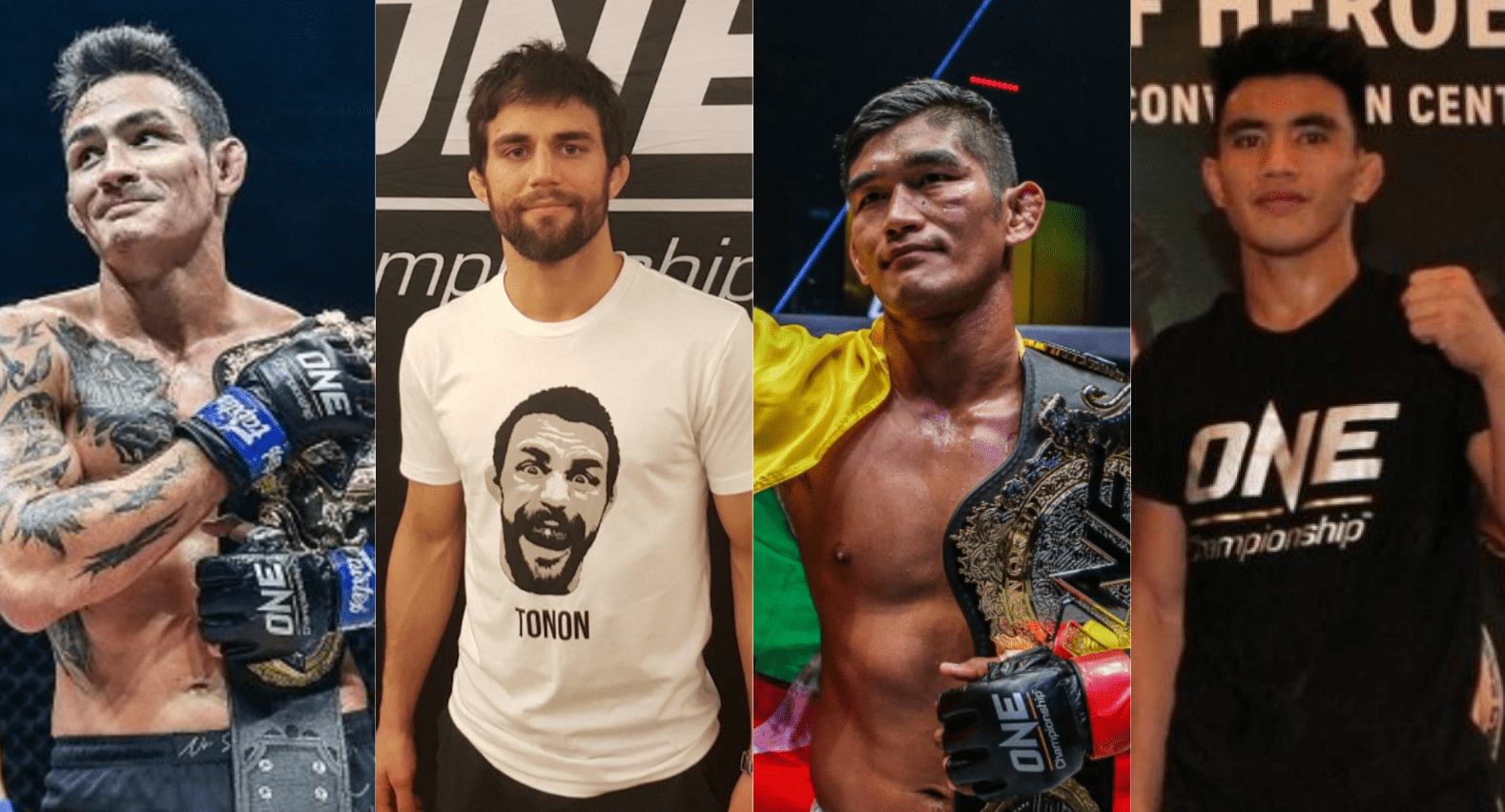 Thanh Le, Garry Tonon, Aung La Nsang, Joshua Pacio, ONE Championship