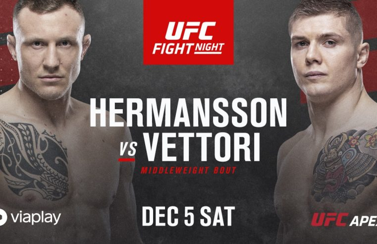 UFC Vegas 16: Hermansson vs Vettori Results And Post Fight Videos