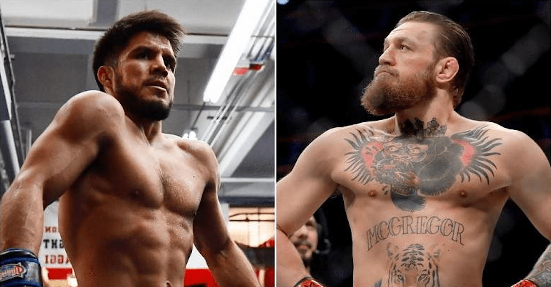 UFC Henry Cejudo and Conor McGregor