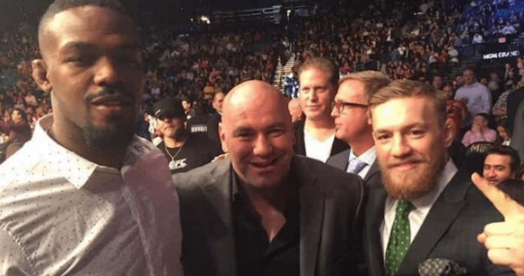 Jon Jones, Dana White, Conor McGregor, UFC