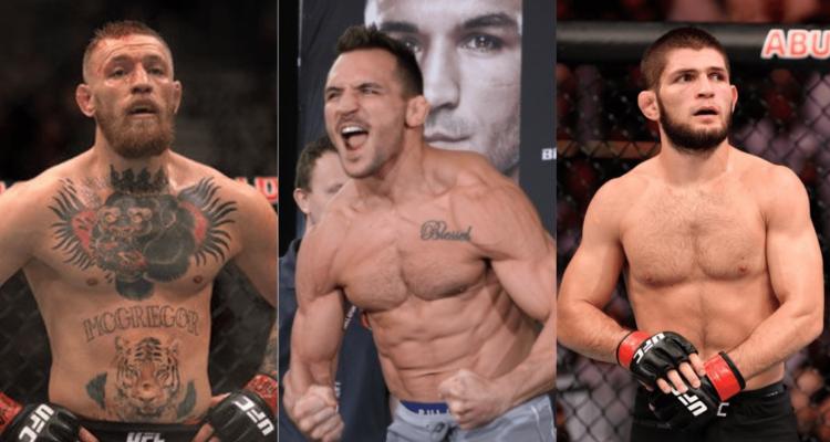 UFC, Conor McGregor, Michael Chandler, Khabib Nurmagomedov