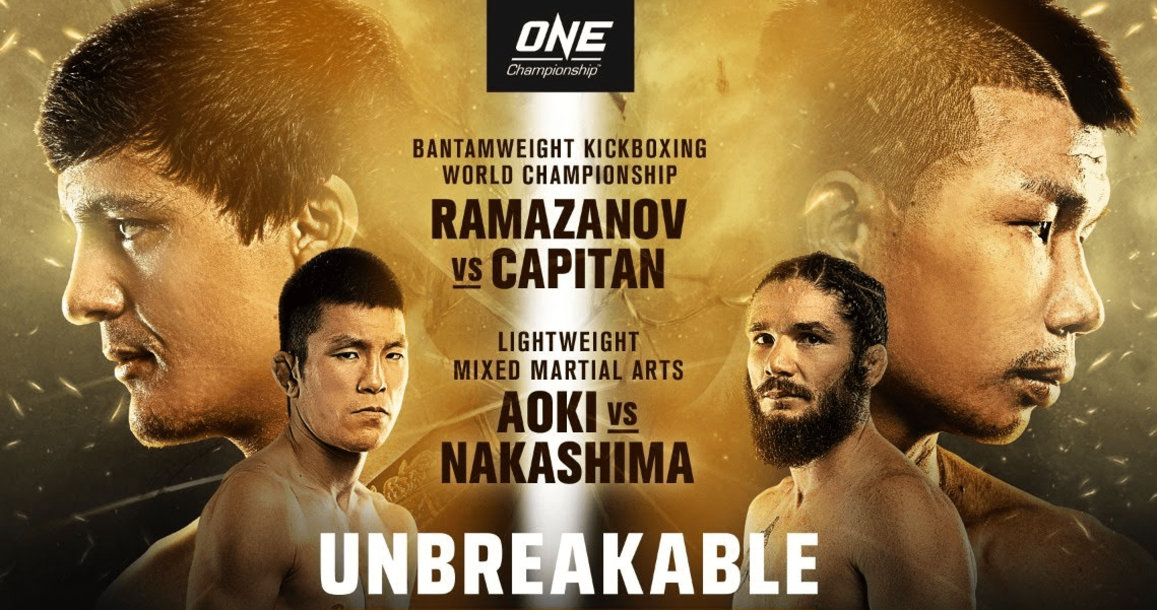 ONE Champion: Unbreakable results, Ramazanov vs Capitan, Aoki vs Nakashima
