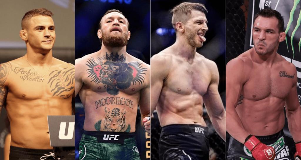 Dustin Poirier, Conor McGregor, Dan Hooker, Michael Chandler, UFC 257