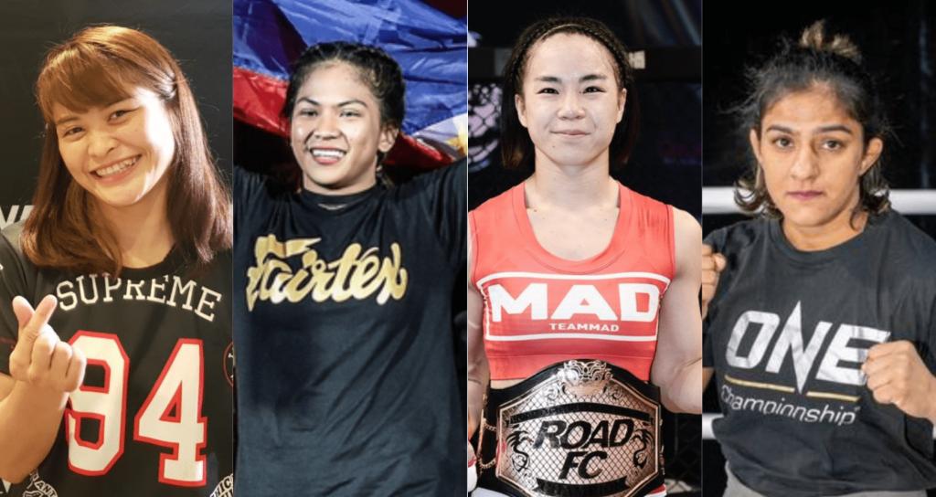 Stamp Fairtex, Denice Zamboanga, Seo Hee Ham, Ritu Phogat, ONE Championship