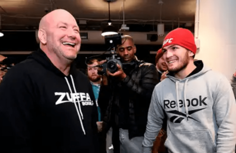 Dana White Still Not Giving Up On Khabib, Talks TUF 29