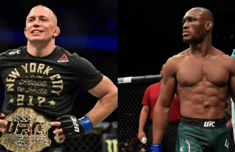 UFC: Georges St-Pierre Doesn't Find Kamaru Usman Fight 'Appealing'