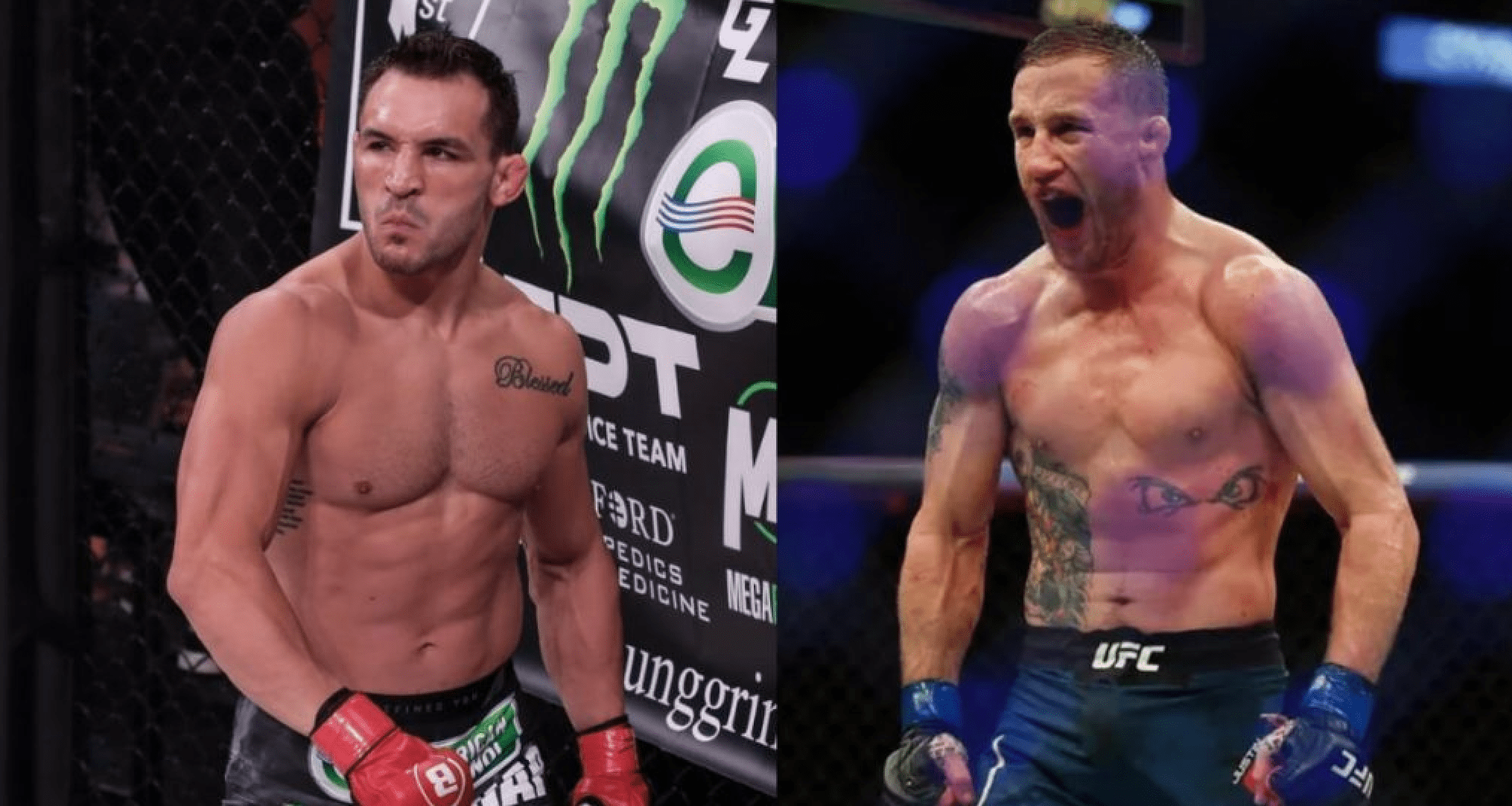 UFC: Michael Chandler And Justin Gaethje Willing To Throw Hands