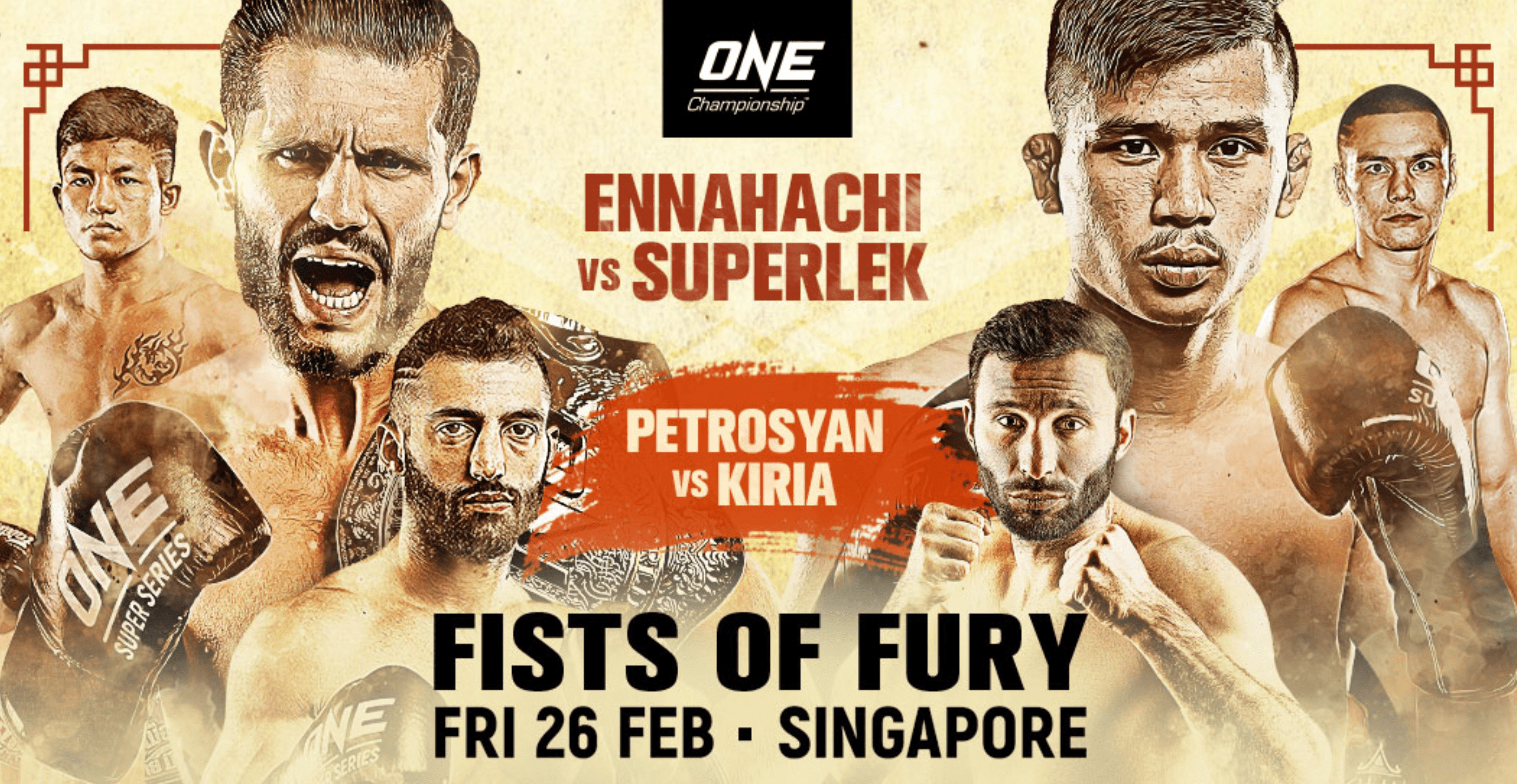 ONE: Fists Of Fury Weigh-In And Hydration Test Results