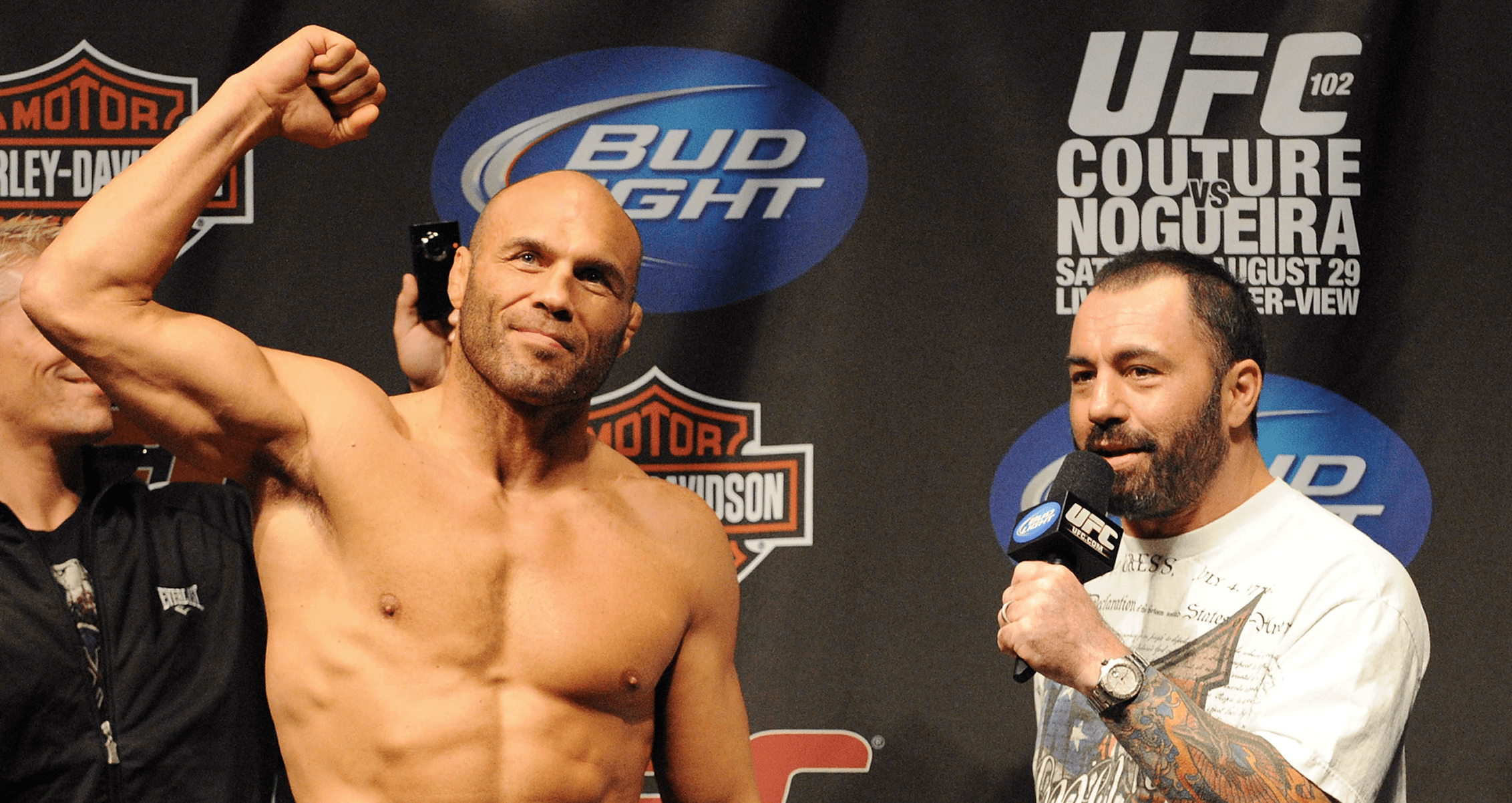 Randy Couture Shares The Origins Of His Fighting Monikers