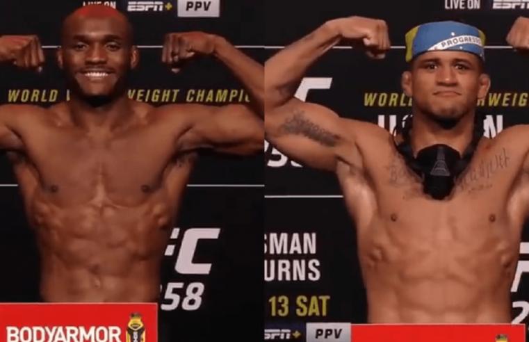 UFC 258: Tyron Woodley Predicts Kamaru Usman vs Gilbert Burns
