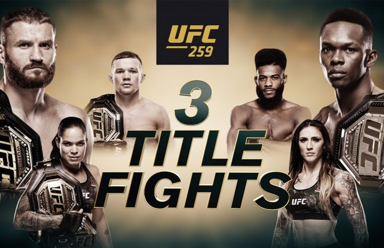 UFC 259 Pre-Fight Videos