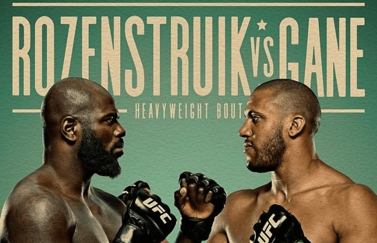 UFC Vegas 20: Rozenstruik vs Gane Results And Replay