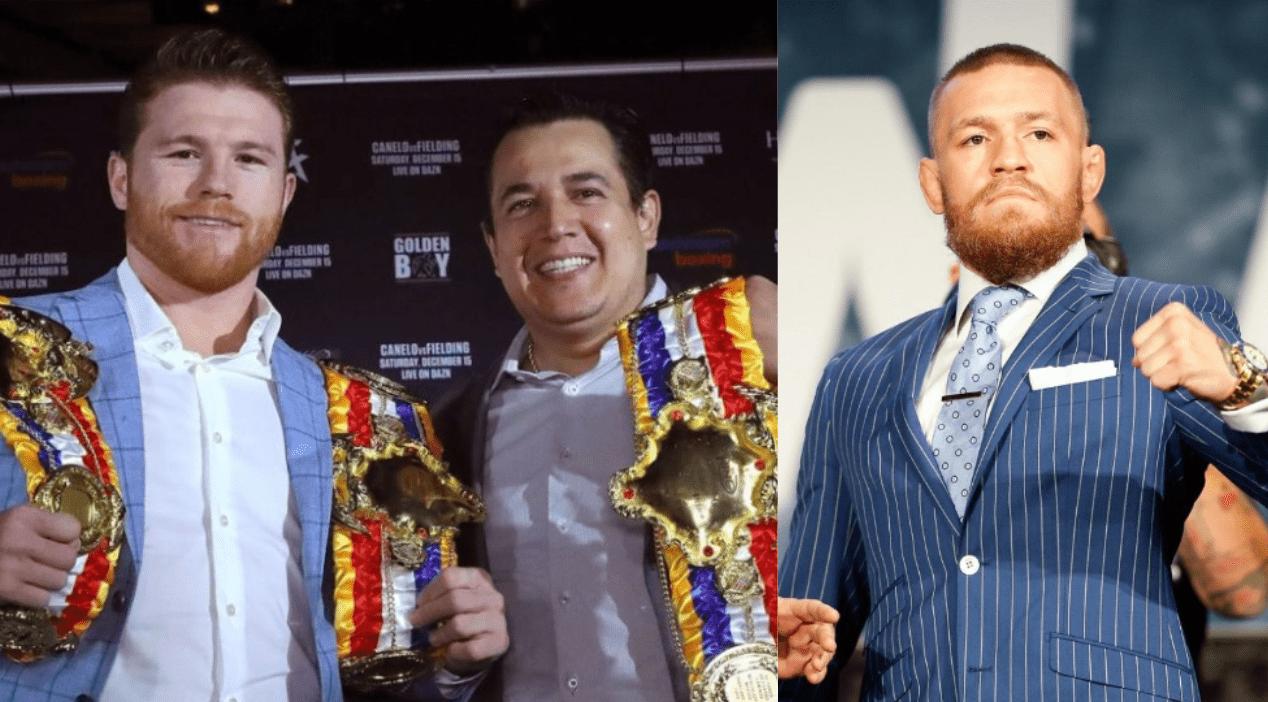 Canelo Alvarez's Coach Eddy Reynoso Offers To Train Conor McGregor