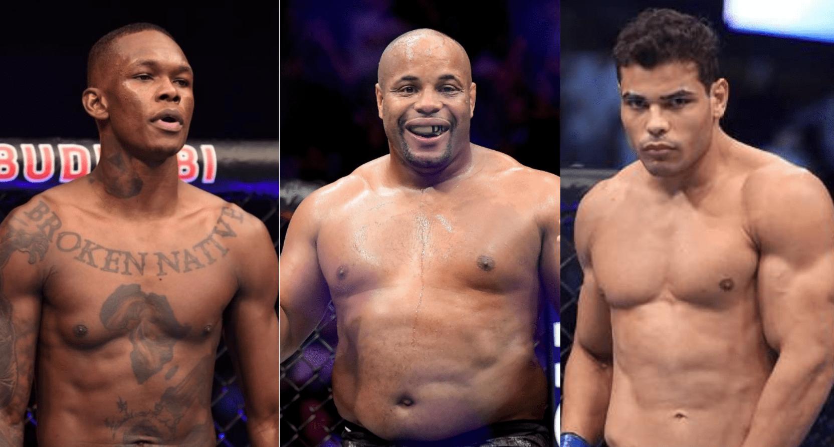 UFC, Israel Adesanya, Daniel Cormier, Paulo Costa