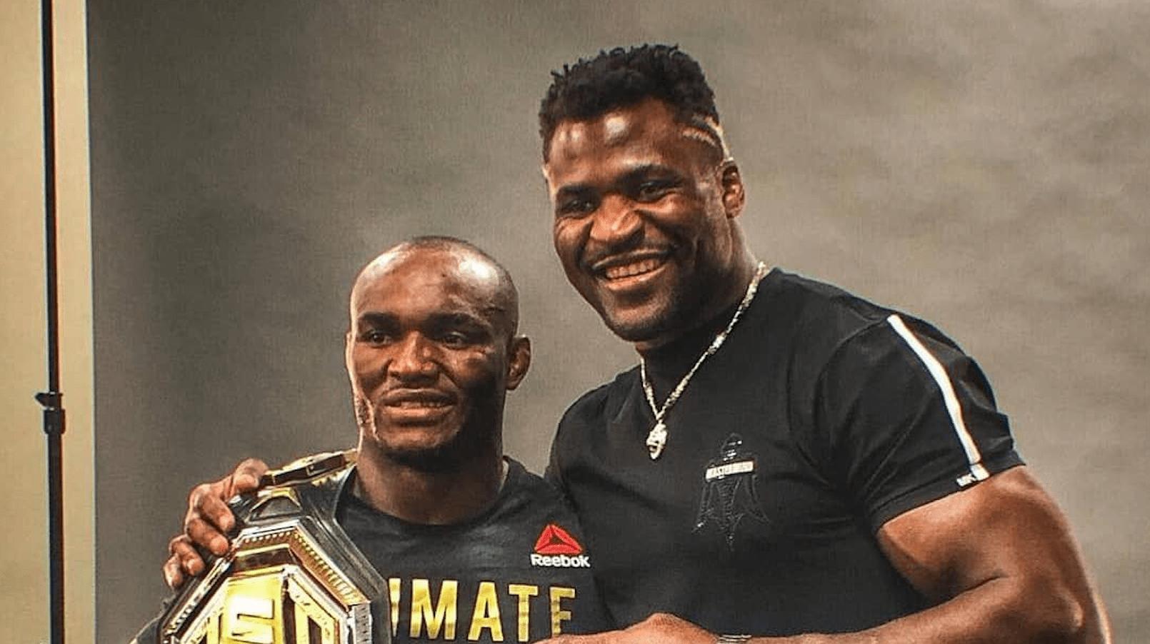 Kamaru Usman To Corner Francis Ngannou At UFC 260