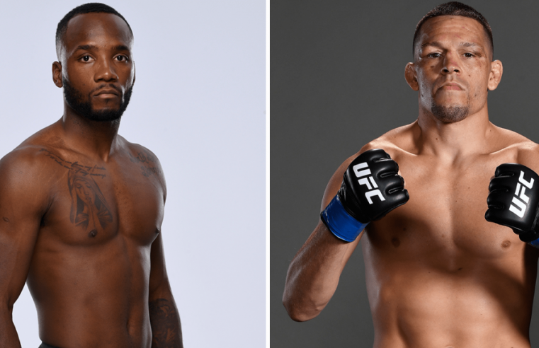 Leon Edwards To Face Nate Diaz At UFC 262
