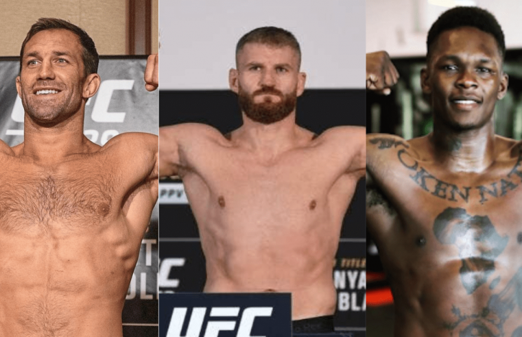 UFC 259: Luke Rockhold Breaks Down Jan Blachowicz vs Israel Adesanya