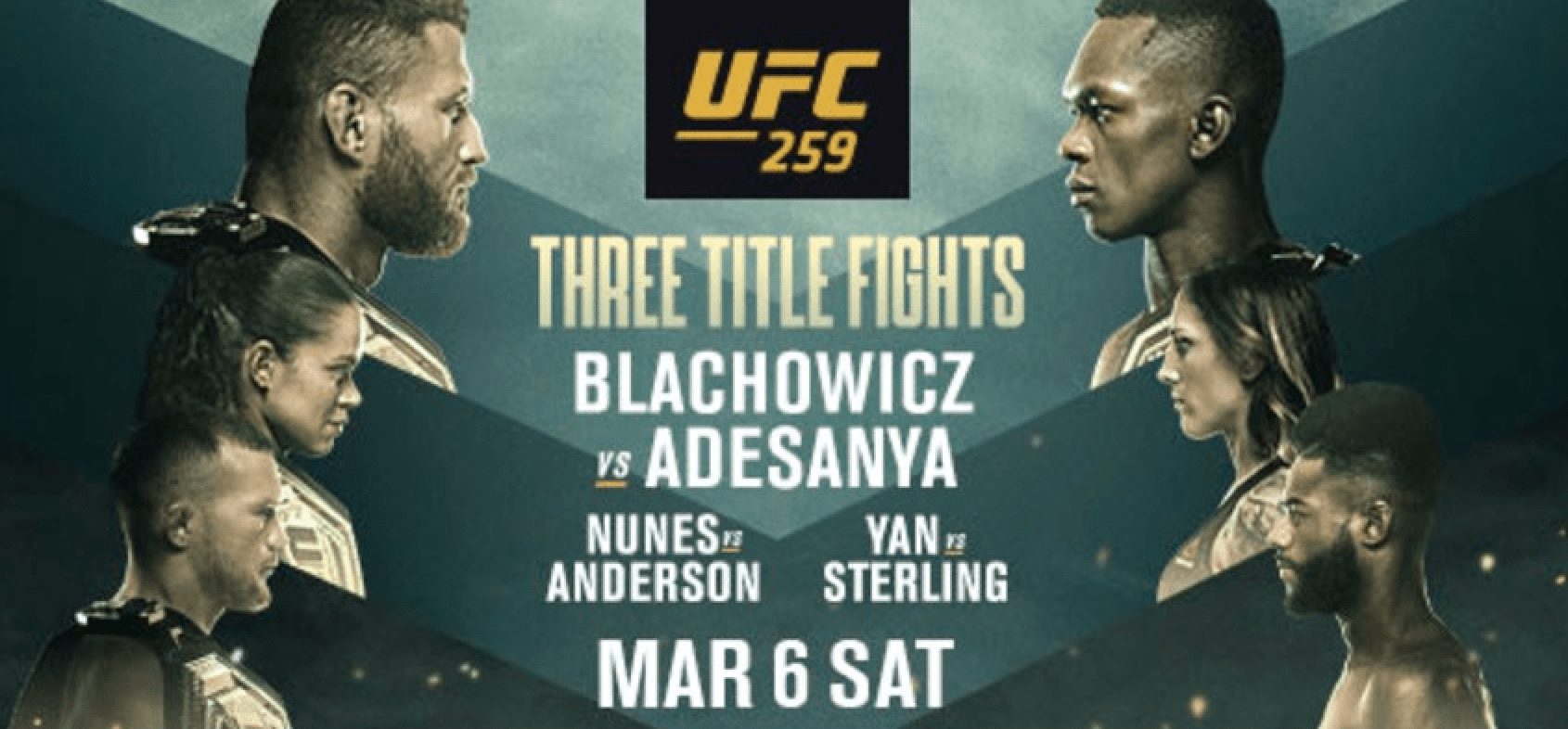 UFC 259 results, Blachowicz, Adesanya, Nunes, Anderson, Yan, Sterling