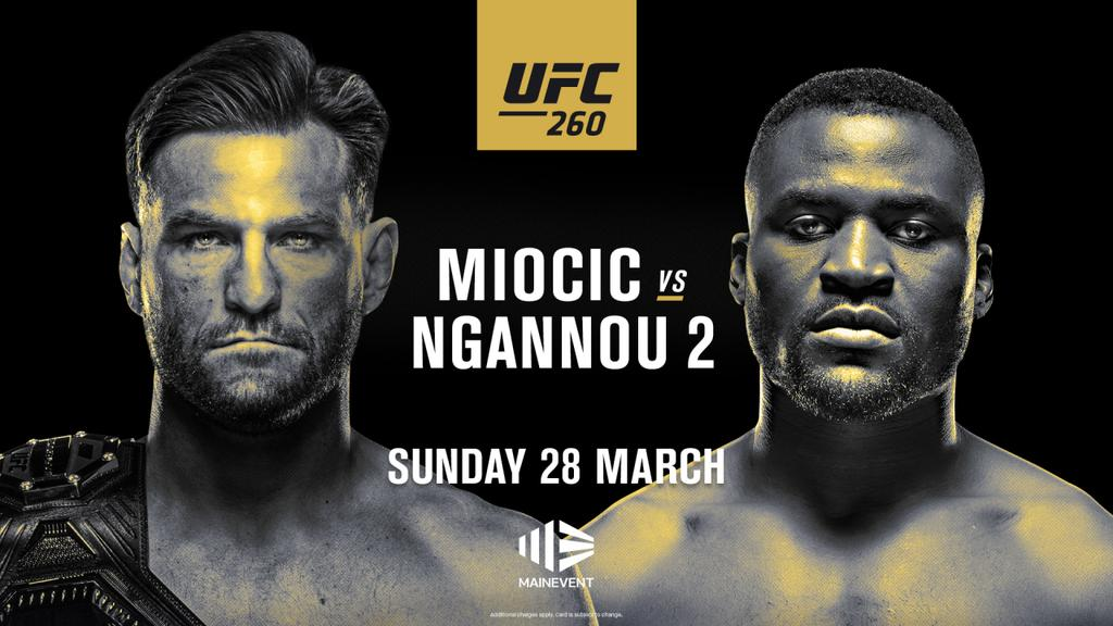 UFC 260: Miocic vs Ngannou Results And Post Fight Videos