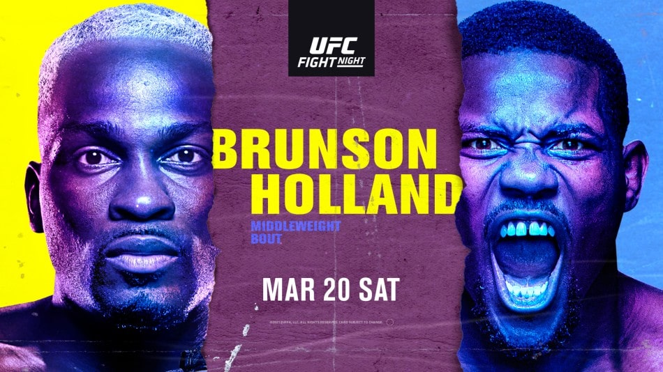UFC Vegas 22: Brunson vs Holland Results And Post Fight Videos