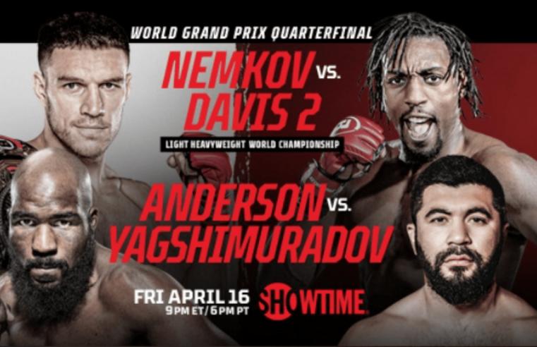 Bellator 257: Nemkov vs Davis Results And Replay