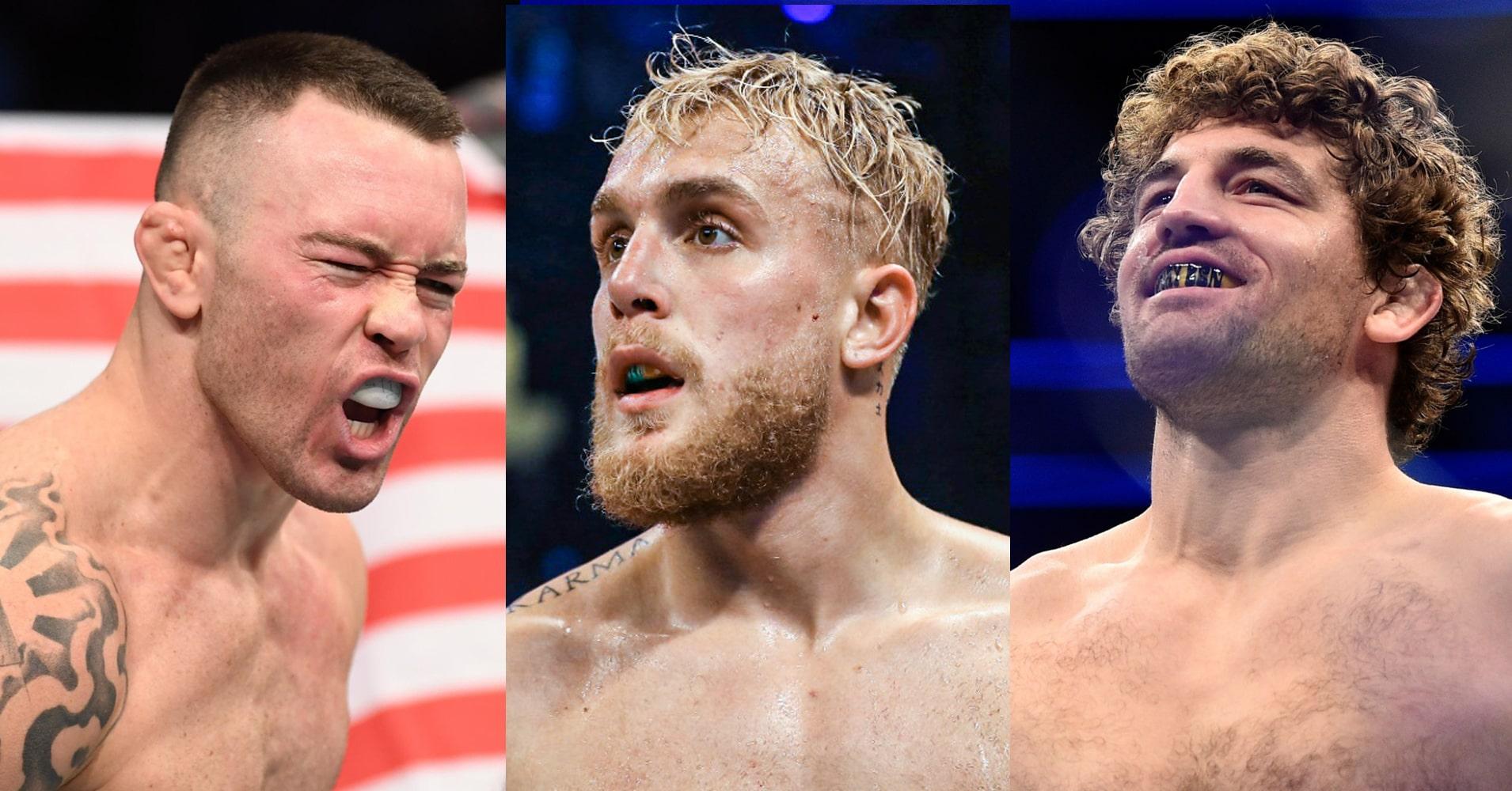 UFC: Colby Covington Makes His Jake Paul vs Ben Askren Prediction