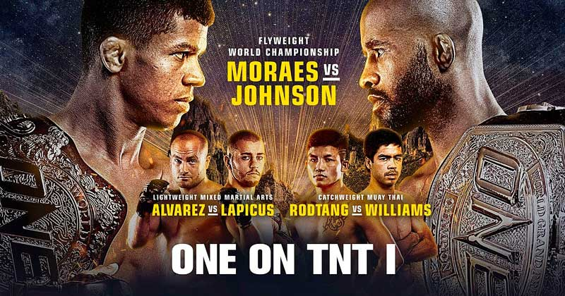 ONE on TNT 1 results, Johnson, Moraes, Alvarez, Rodtang