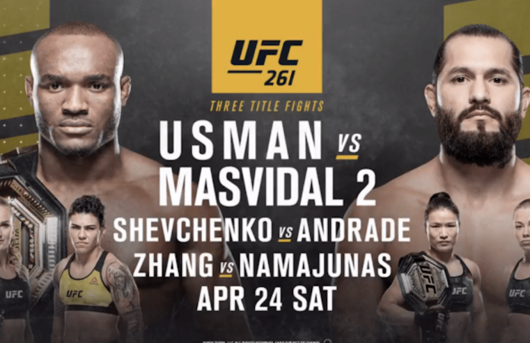 UFC 261 Pre-Fight Videos