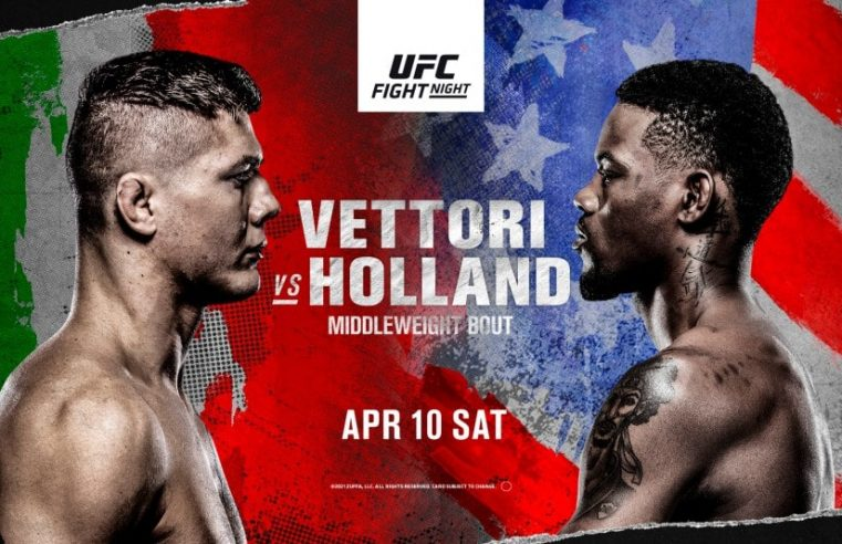 UFC Vegas 23: Vettori vs Holland Results And Post Fight Videos