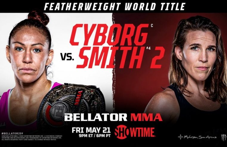 Bellator 259: Cyborg vs Smith 2 Results And Replay