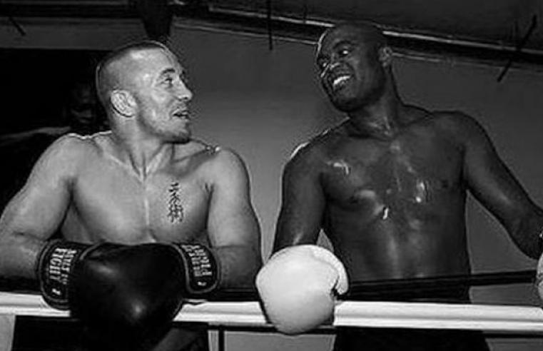 Anderson Silva Slams Dana White For Vetoing GSP vs Oscar De La Hoya